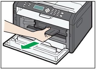Manchas de toner impresora Ricoh Aficio