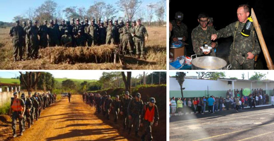 Tiro de Guerra realiza o primeiro acampamento do ano