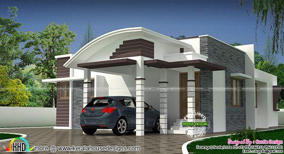 C-curve model Modern home