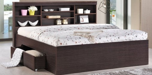 Elegant and Comfort Queen Size Bed
