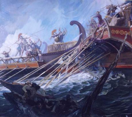 Địa điểm diên ra trận hải chiến