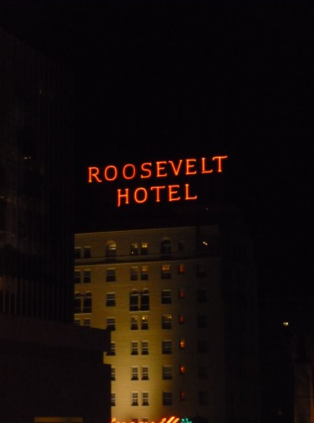Travelling With The Movies: Hollywood Roosevelt Hotel