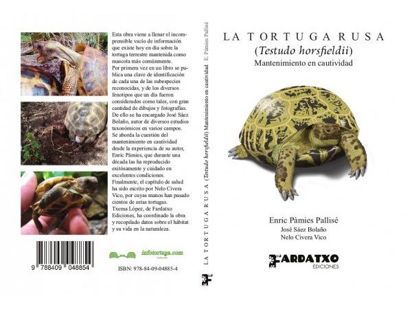 La tortuga rusa (Testudo horsfieldii). Mantenimiento en cautividad - Enric Pàmies