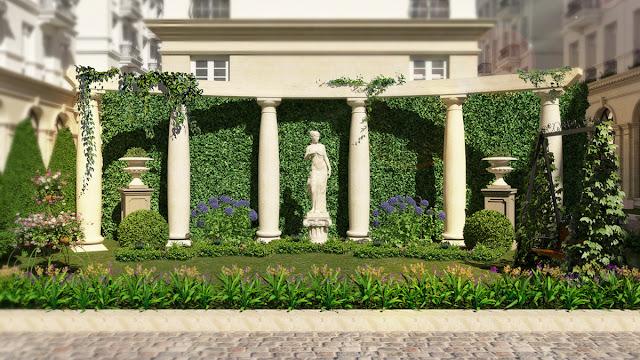 Kì quan nội khu Giảng Võ Grandeur Palace