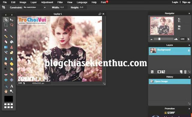 [Tips] Hướng dẫn cách sử dụng Photoshop Online không cần cài đặt
