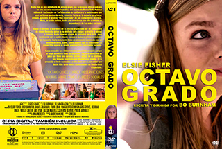 Eighth Grade - Octavo Grado - Cover DVD