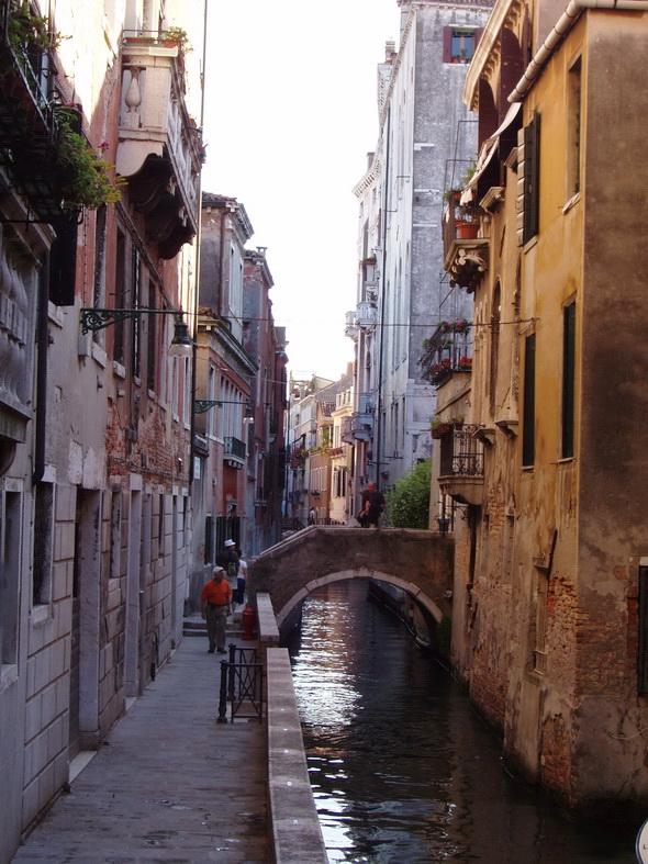 Venice Canal Street, Italy