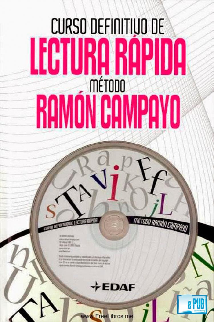 Curso definitivo de lectura rápida método Ramón Campayo (Libro + CD)