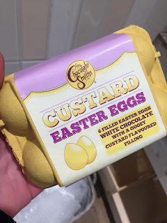 Chocolate Smiths Custard Easter Eggs