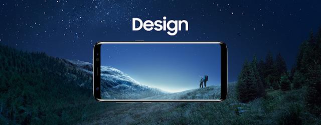 Desain Samsung Galaxy S8 dan S8+