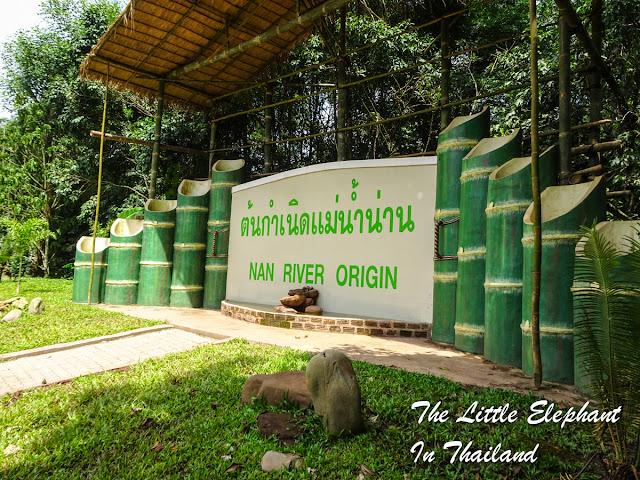 Origin of Nan River near Bo Klua, North Thailand