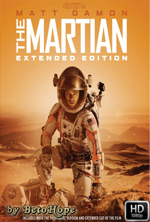 Marte (The Martian) Extended [1080p] [Latino-Ingles] [MEGA]