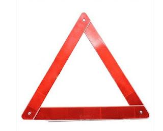مثلث التنبيه بالخطر