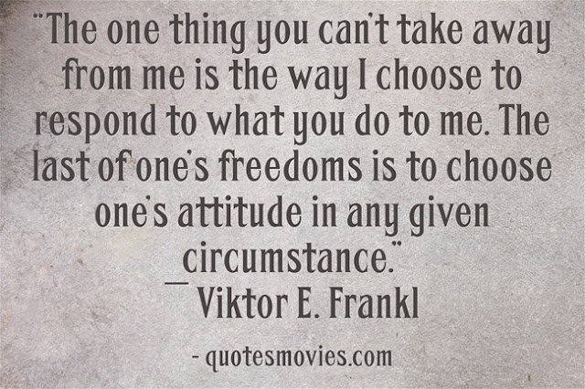 Viktor E. Frankl on freedom