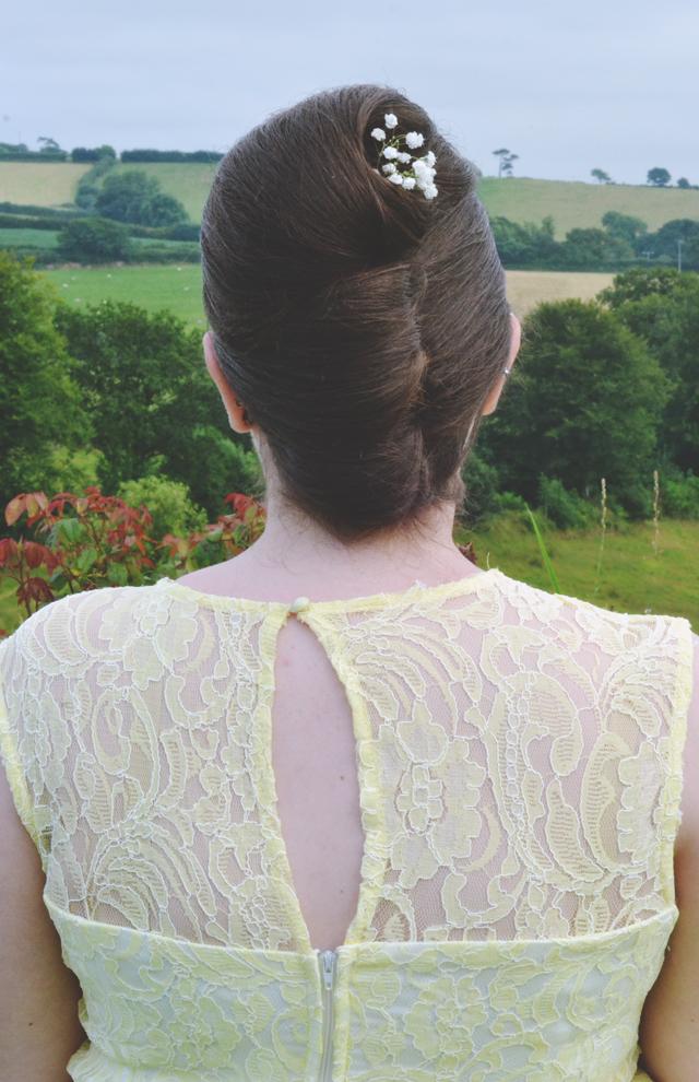 Bridal Hair Beehive