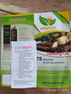 Minyak Varash Singkirkan 78 Jenis Penyakit