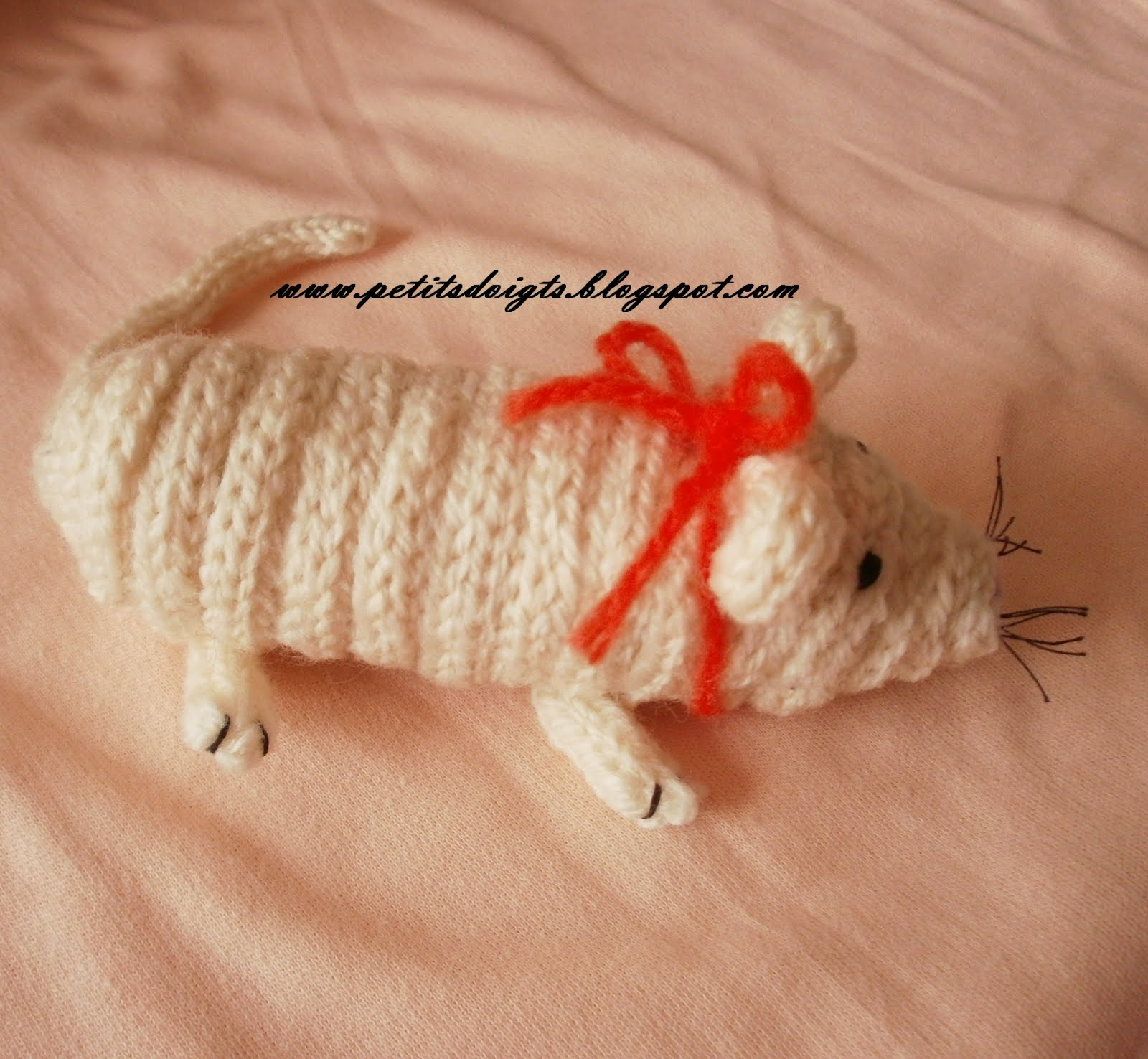 petits doigts animal tricotin chenille et souris 2012. Black Bedroom Furniture Sets. Home Design Ideas