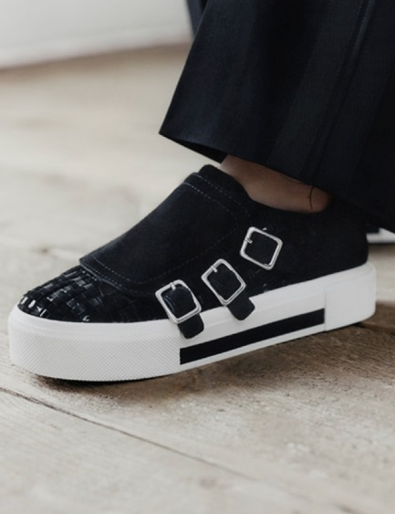 Black & White Designer Sneakers