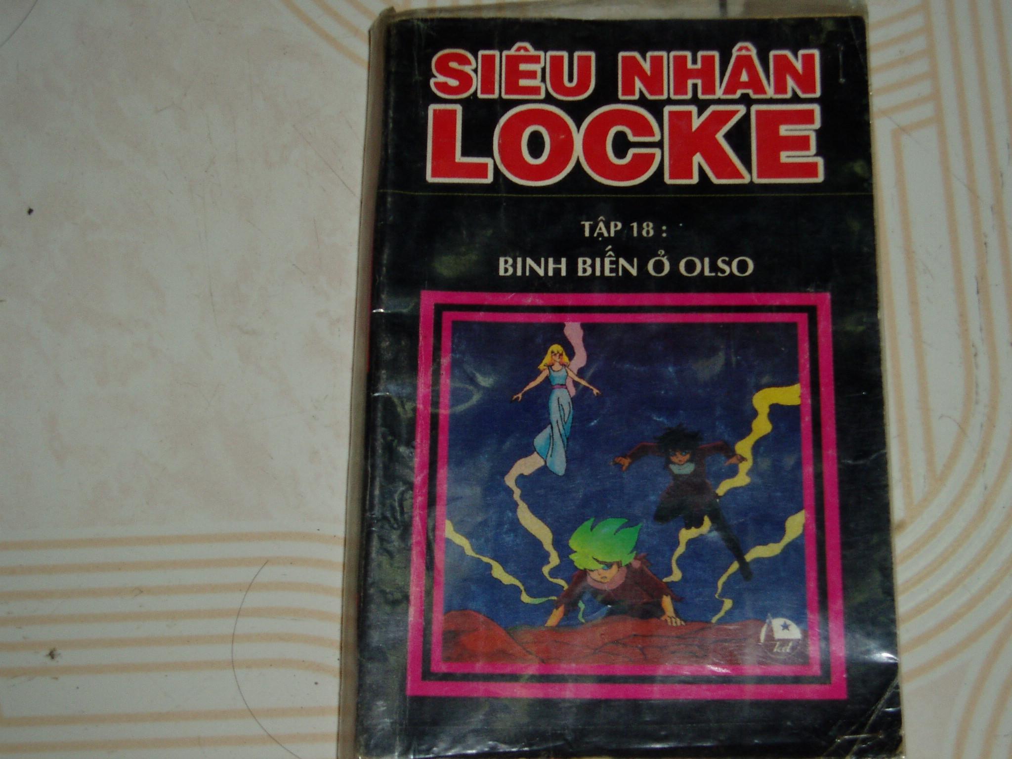 Siêu nhân Locke vol 18 trang 1