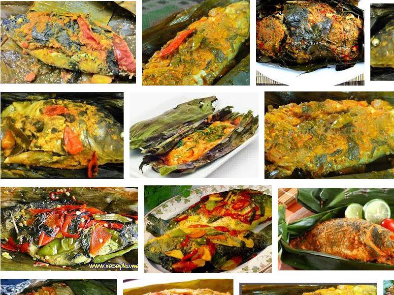 resep pepes ikan mas khas sunda