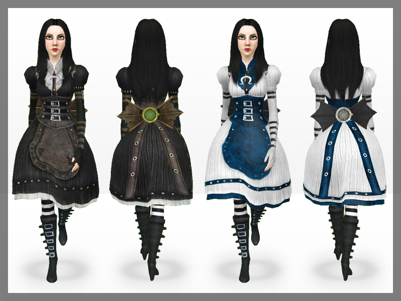 My Sims 3 Blog: Alice: Madness Returns Set by MeroninSims3