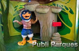 Piko mascota nueva de Sendaviva