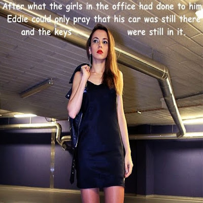 Feminized by office girls Sissy TG Caption - Hard TG Captions - Crossdressing and Sissy Tales and Captioned images