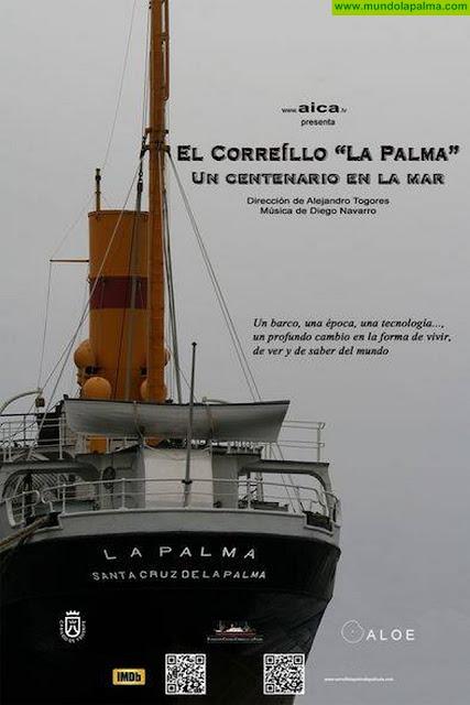 """Proyección documental El Correíllo La Palma: """"Un centenario en la mar"""""""