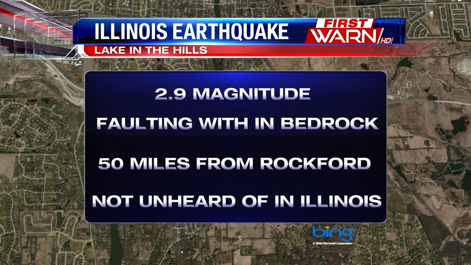 First Warn Weather Team Earthquake Near The Stateline