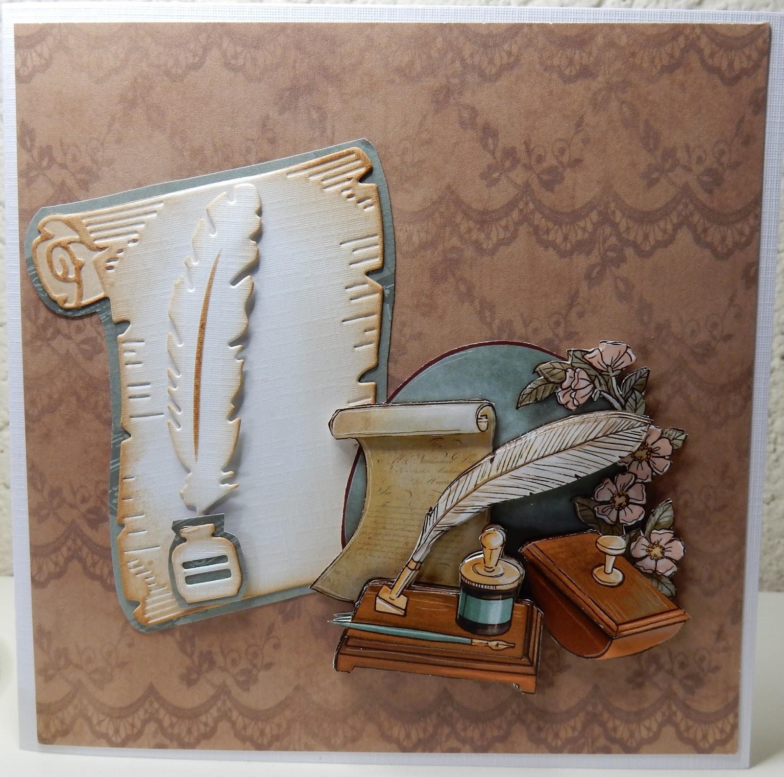 Magnifiek Hetty's Knutselhokkie!: Vintage Objects van Yvonne Creations @YA43