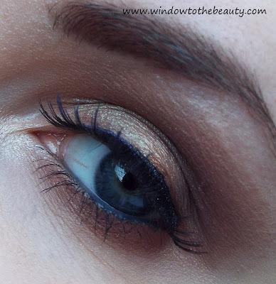 dzienny brąz na oku