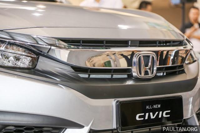 Honda Civic FC 2016