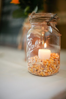 Eight Lovely and Simple Ideas for Your Rustic Wedding Centerpieces