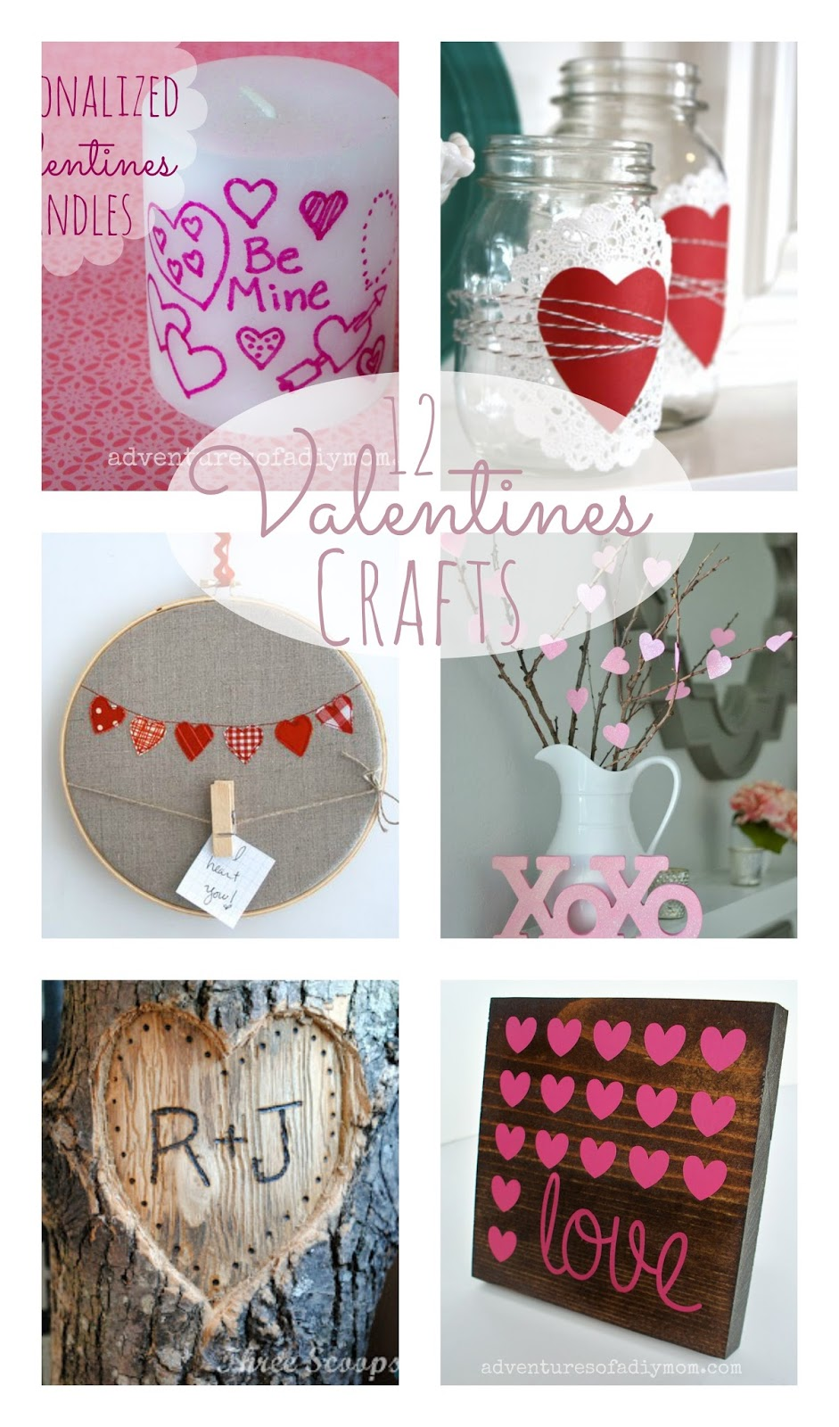 12 Valentines Crafts