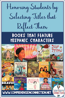 Certainly, the list of books that feature Hispanic or Latino characters isn't that deep, but in this post, titles are highlighted with tips on how to use them.