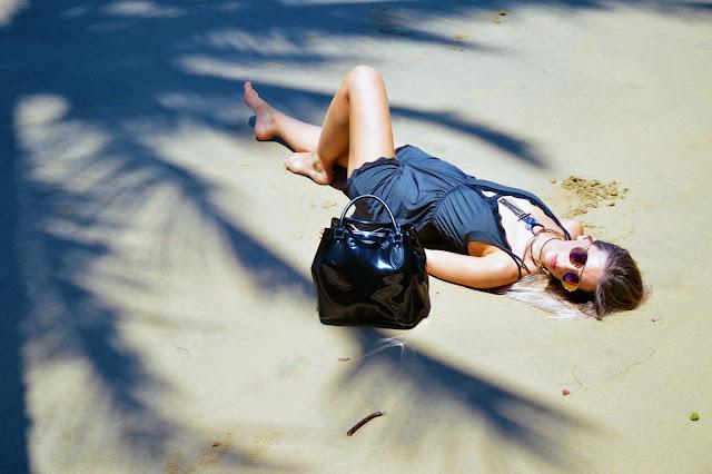 lace playsuit beach