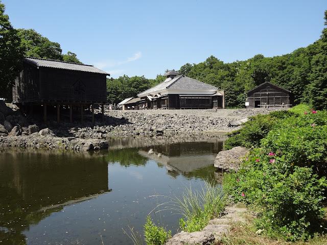Villa de pescadores museo de la villa histórica de Hokkaido