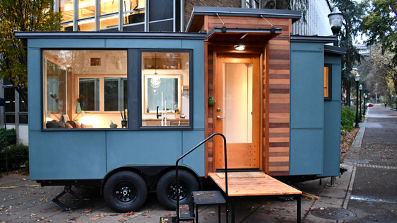 Tiny house town the verve lux from tru form tiny homes the verve lux from tru form tiny homes malvernweather Images