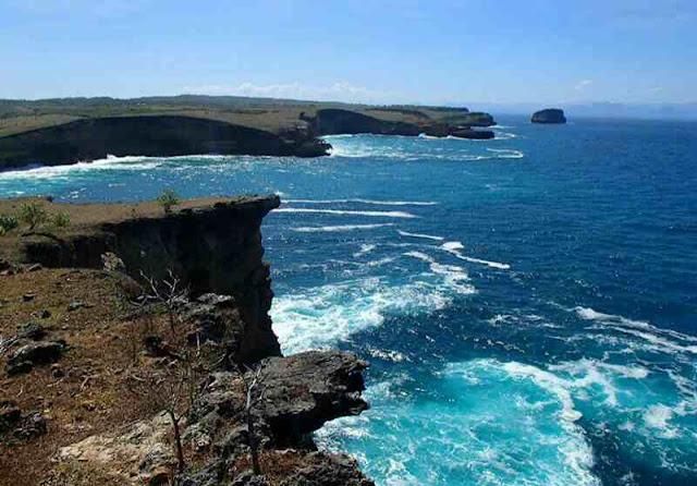 Wisata terbaru dan masih alami pantai penyisok lombok timur