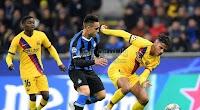 انتر ميلان يودع دوري أبطال أوروبا بعد السقوط على ملعبه امام برشلونة بهدفين لهدف