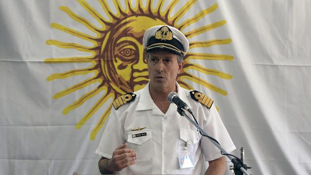 """Armada Argentina: """"No tenemos ningún indicio de que haya habido un ataque exterior al submarino"""""""