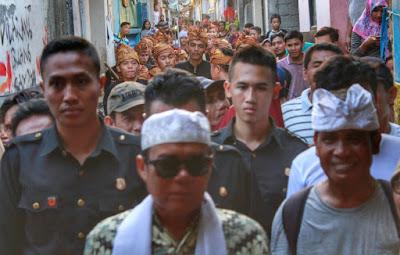 Kampanye di Pancor, Ali BD & TGH Lalu Gede Sakti Diarak Massa