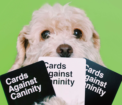 Barkzilla: A Savvy NYC Dog Blog: Cards Against Caninity