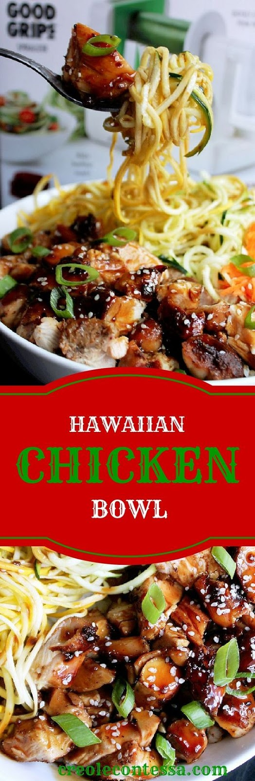 Hawaiian Chicken Bowl with OXO