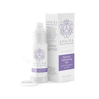 Natural Tightening Gel Firm-Up Cream with Manjakani Extract for Ladies - Amaira Skincare