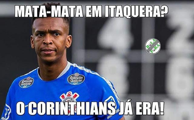Eliminates Arena? Veja os memes da queda do Corinthians na Copa do Brasil  (Uol Esportes)