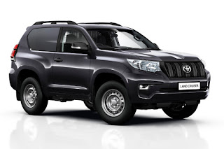 Toyota Land Cruiser Utility Commercial SWB (2018) Front Side