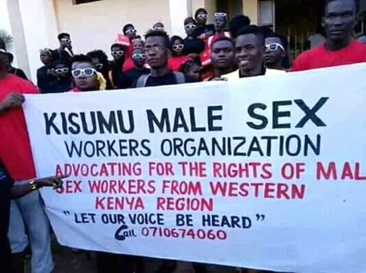 Everlasting Shame As Kisumu Male Malayas Demonstrate For Their RIghts