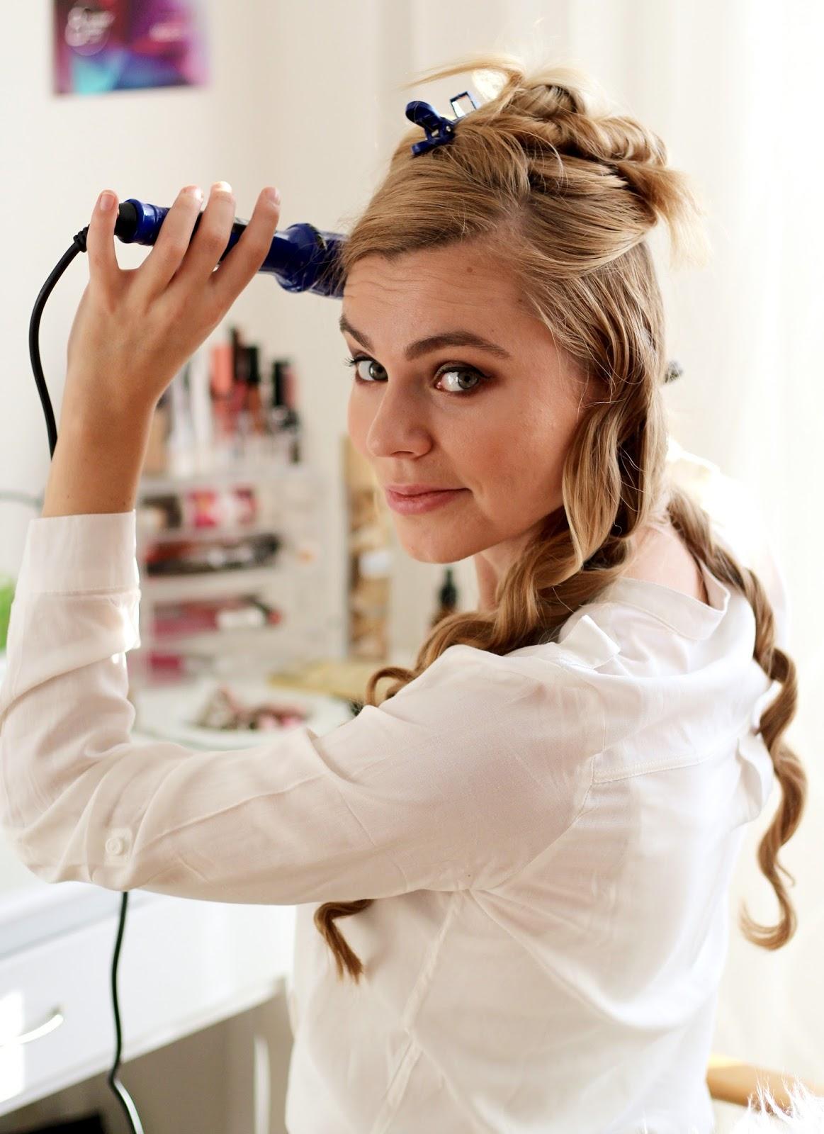 wavy hair, vlnené vlasy