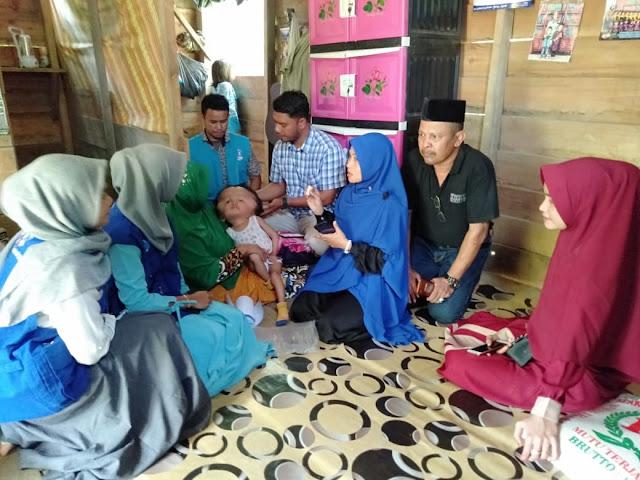 LPD Kunjungi dan Santuni Pasien Penderita Hidrosefalus dari keluarga Mualaf